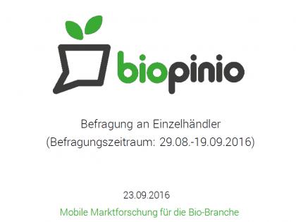 Studie zu verkaufsfördernden Maßnahmen im Bio-Fachhandel