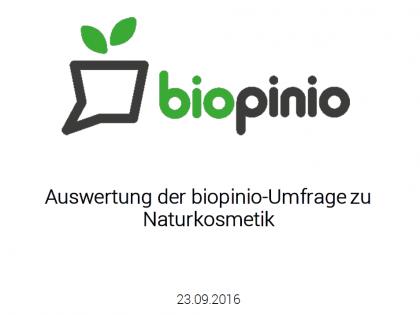 Studie Online Naturkosmetik Informationsverhalten