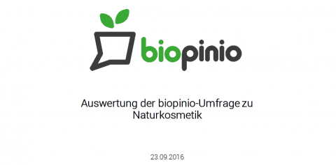 biopinio download Studie Online Naturkosmetik