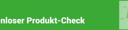 Kostenloser Produkt-Check