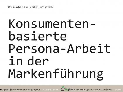 Konsumentenbasierte Persona