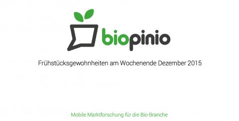 biopinio Bio pollion Marktforschung Ernährungsgewohnheiten Umfrage