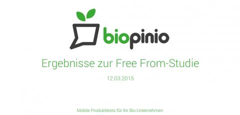 biopinio Bio pollion Marktforschung Studie freefrom Allergien Unverträglichkeit