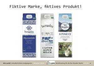 Persona Studie Milch biopinio merz biofach verwender design analyse